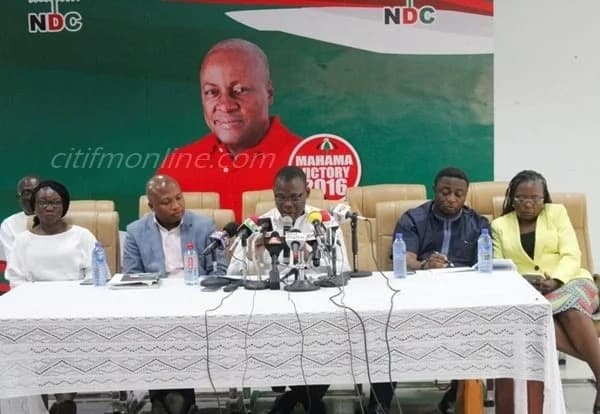 NDC makes staggering revelations about NPP