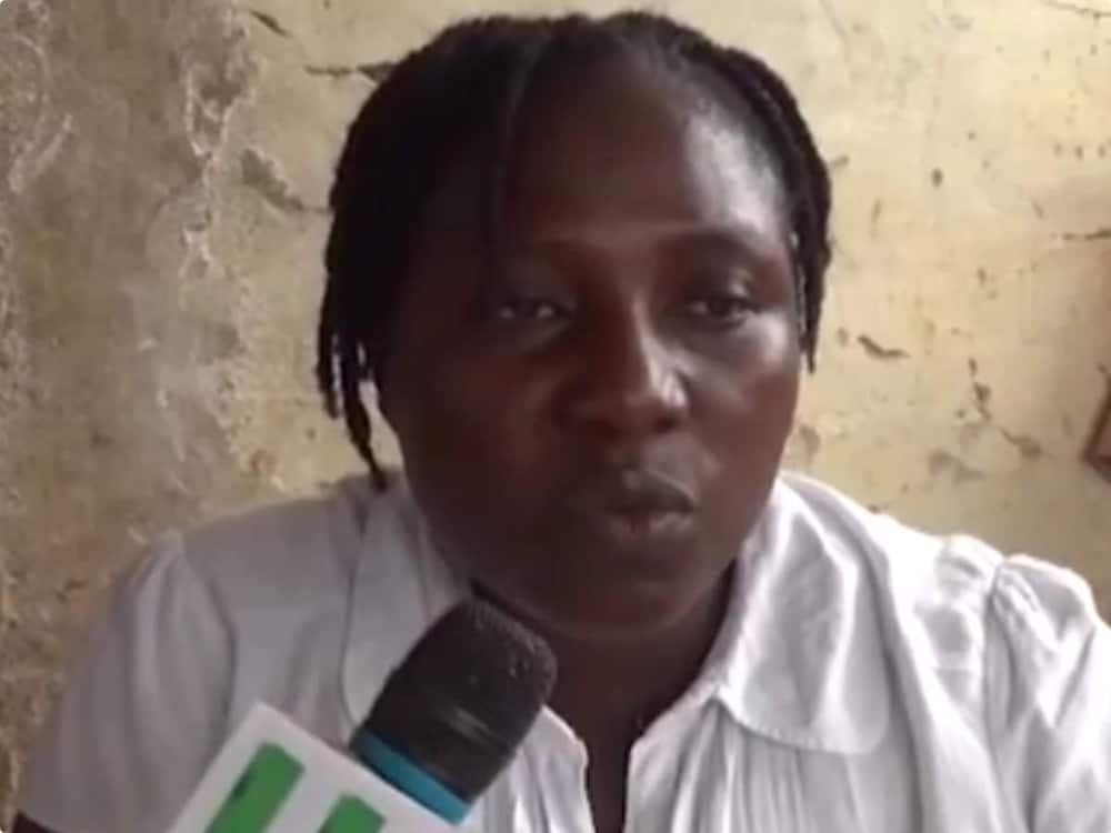 The police, our family will deal with anyone who still has the video - Mother of student in Adumanu stool 'atopa' video warns