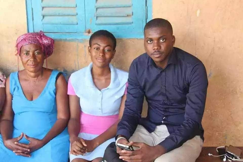 Young lady in Bekwai appeals for funds to undergo brain surgery