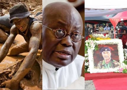 "We also want state burial, GHc 500,000 and others- Family of illegal miner who lost his life in ""operation vanguard"" tell Akufo-Addo"