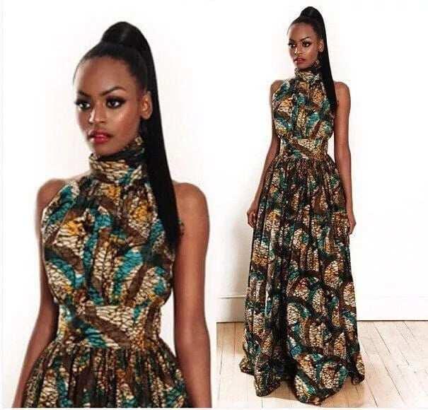 Top trending african print dress styles for weddings in Ghana