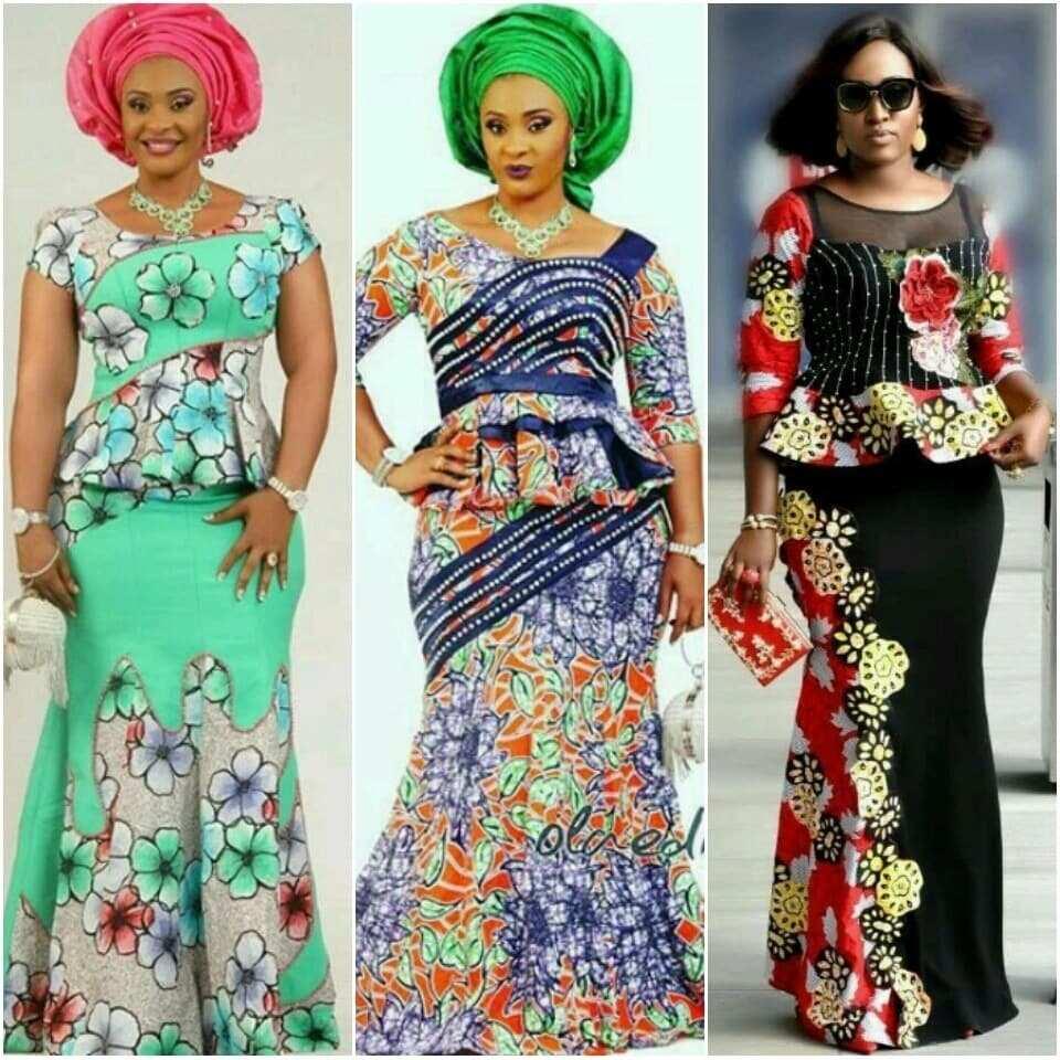 Top 20 Latest Ankara Styles Designs 2019: Latest Ankara Designs For Skirt And Blouse 2019 YEN.COM.GH