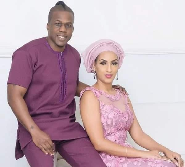 Juliet Ibrahim and Iceberg Slim caught on camera having fun at a coded location as they celebrate Christmas