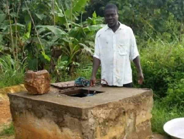 Water well at prayer camp in Kumasi mysteriously turns bloody red