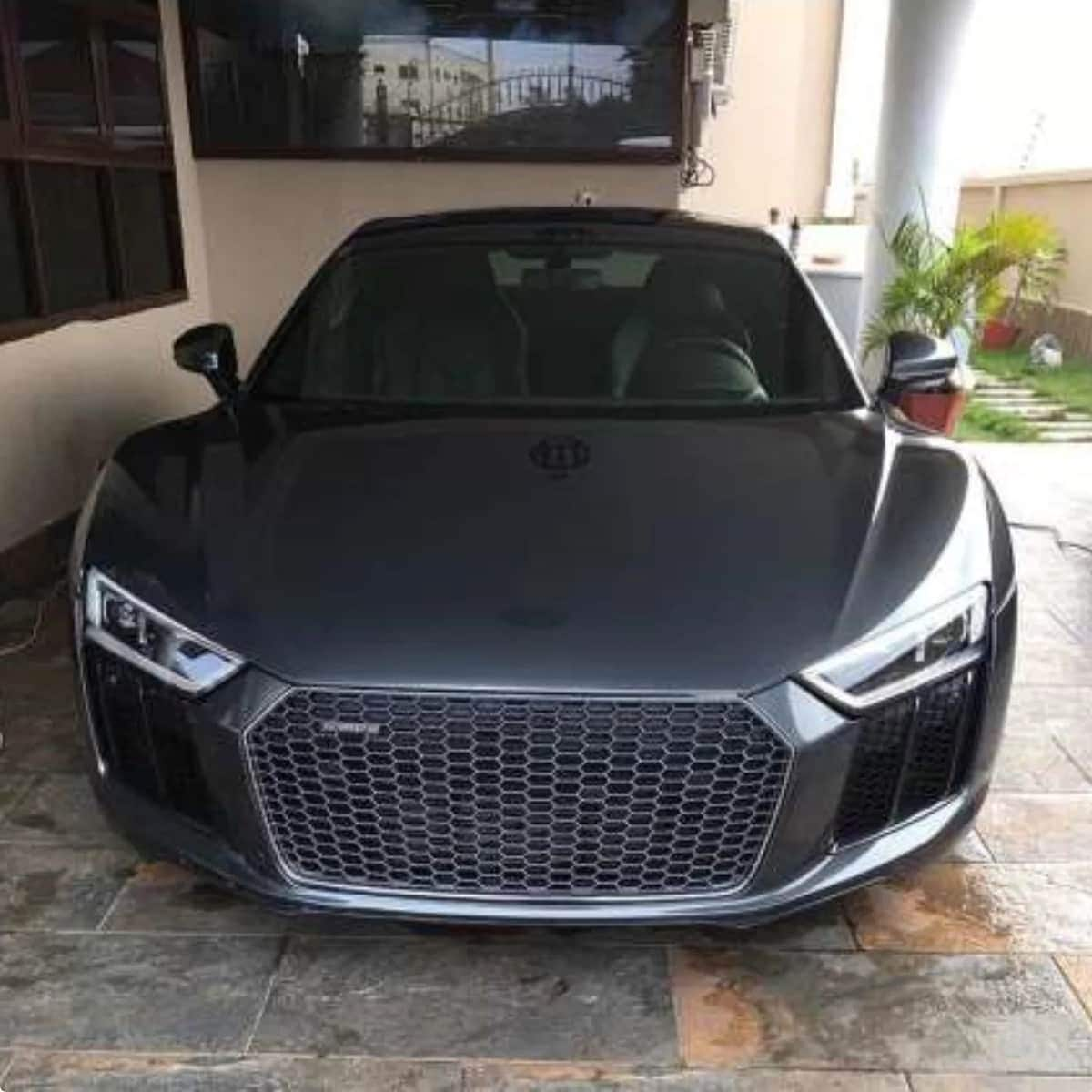 Photos of the multi-million Dollar car collection owned by a 31-year old Ghanaian