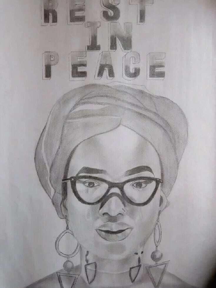A drawing of Ebony