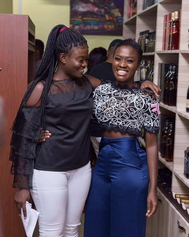 YOLO star, Fella Makafui goes entrepreneurial as she opens beautiful wine shop