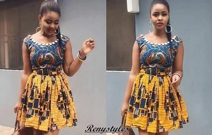 Latest Kente Styles in Ghana 2018- Latest Kente dress styles