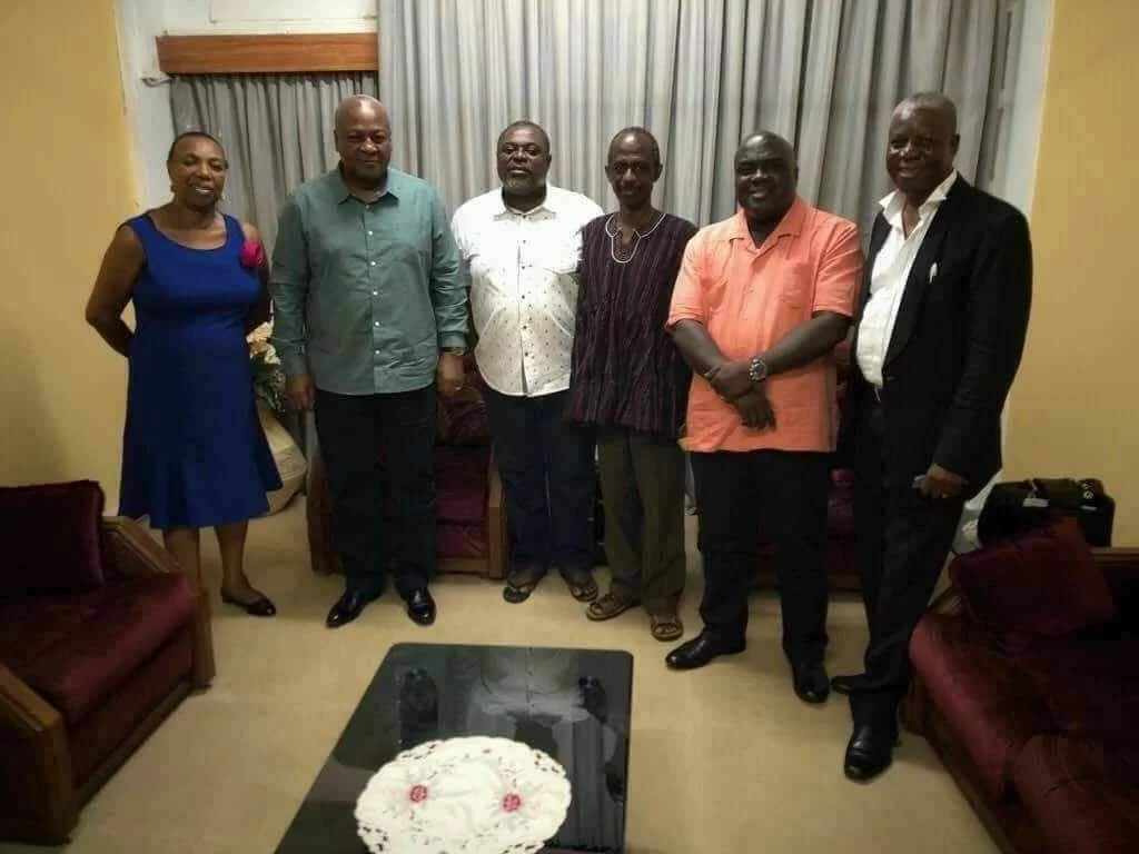 First photo of Koku Anyidohu with Mahama, powerful NDC executives pops up