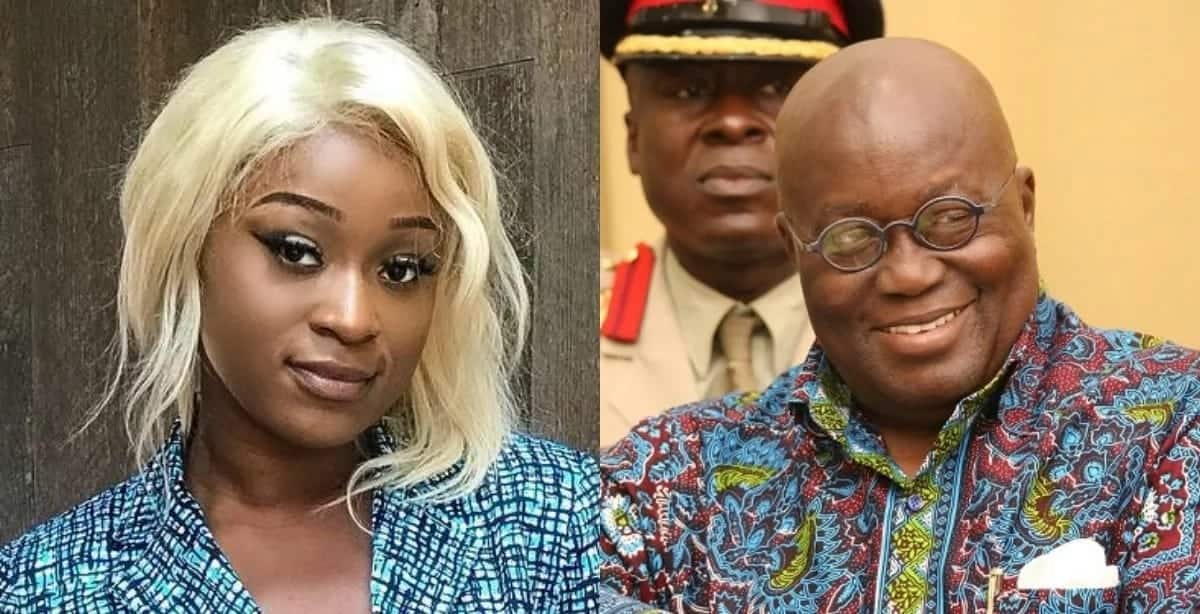 Actress Efia Odo says she loves Akufo-Addo so much