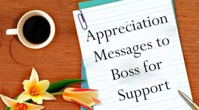 How to write a message of appreciation with samples