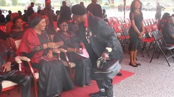 Samira Bawumia 'shocks' Ajos with her beauty at KABA's funeral