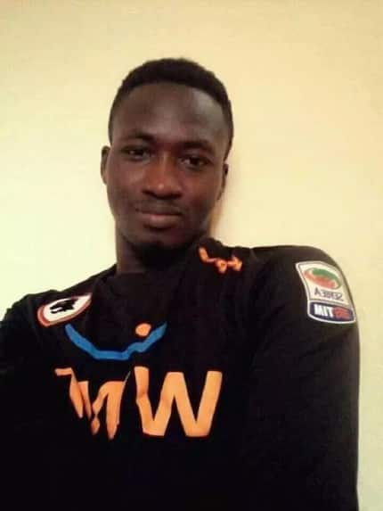 Sad! Ghanaian footballer dies after collision on pitch with player
