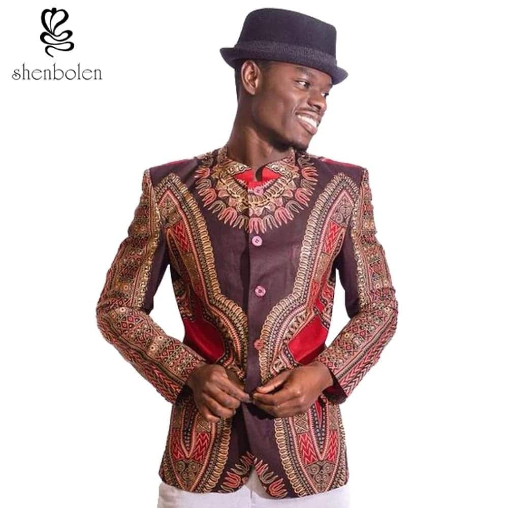 Latest trends in African print styles for men in Ghana (2018)