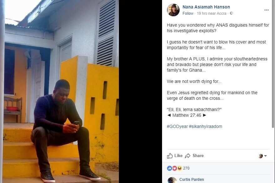 Don't sacrifice your life for Ghana