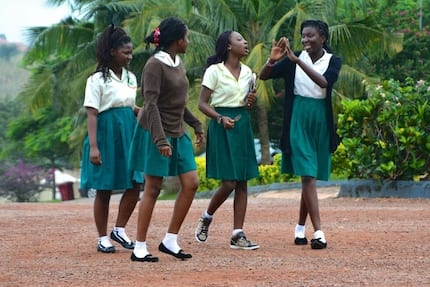 """National Science and Maths Quiz madam cries over """"chew and pour"""" education in Ghana"""
