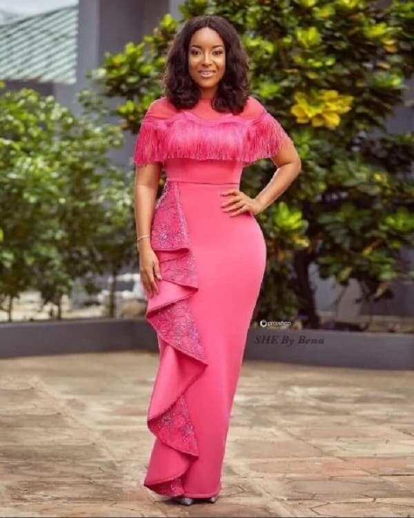 Joselyn Dumas rocks green attire in support of Nigeria
