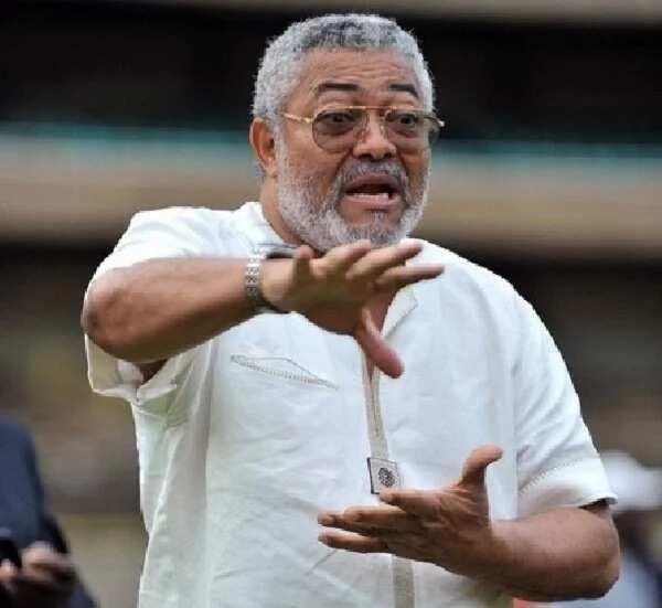 President Rawlings finally responds to NDC's Valerie Sawyerr