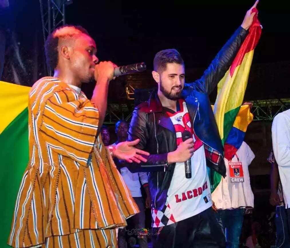 Macassio, MC Dementor fill 50,000 capacity Tamale stadium in epic concert