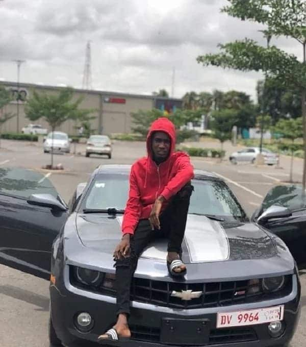 Ypee gets $30,000 Chevrolet Camaro as gift