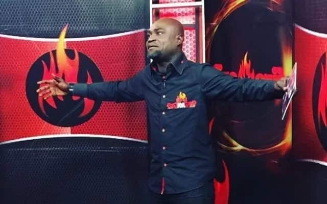 Countryman Songo in his element during one of his 'Fire for Fire' episode