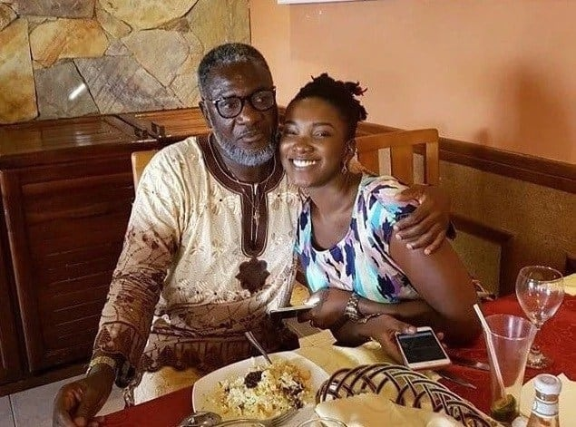Ebony and her father