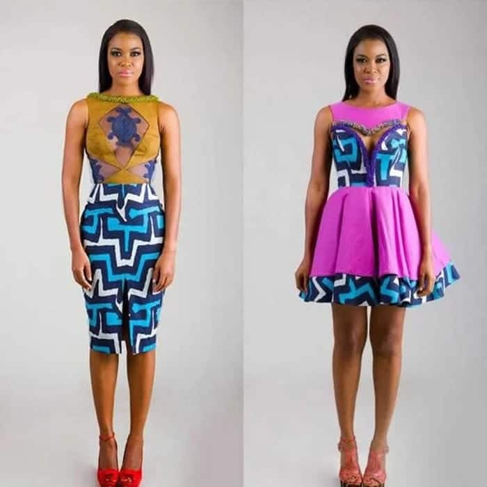 dbe89b96331f5 Beautiful Ankara Designs for Skirt and Blouse in 2019 (Pictures ...