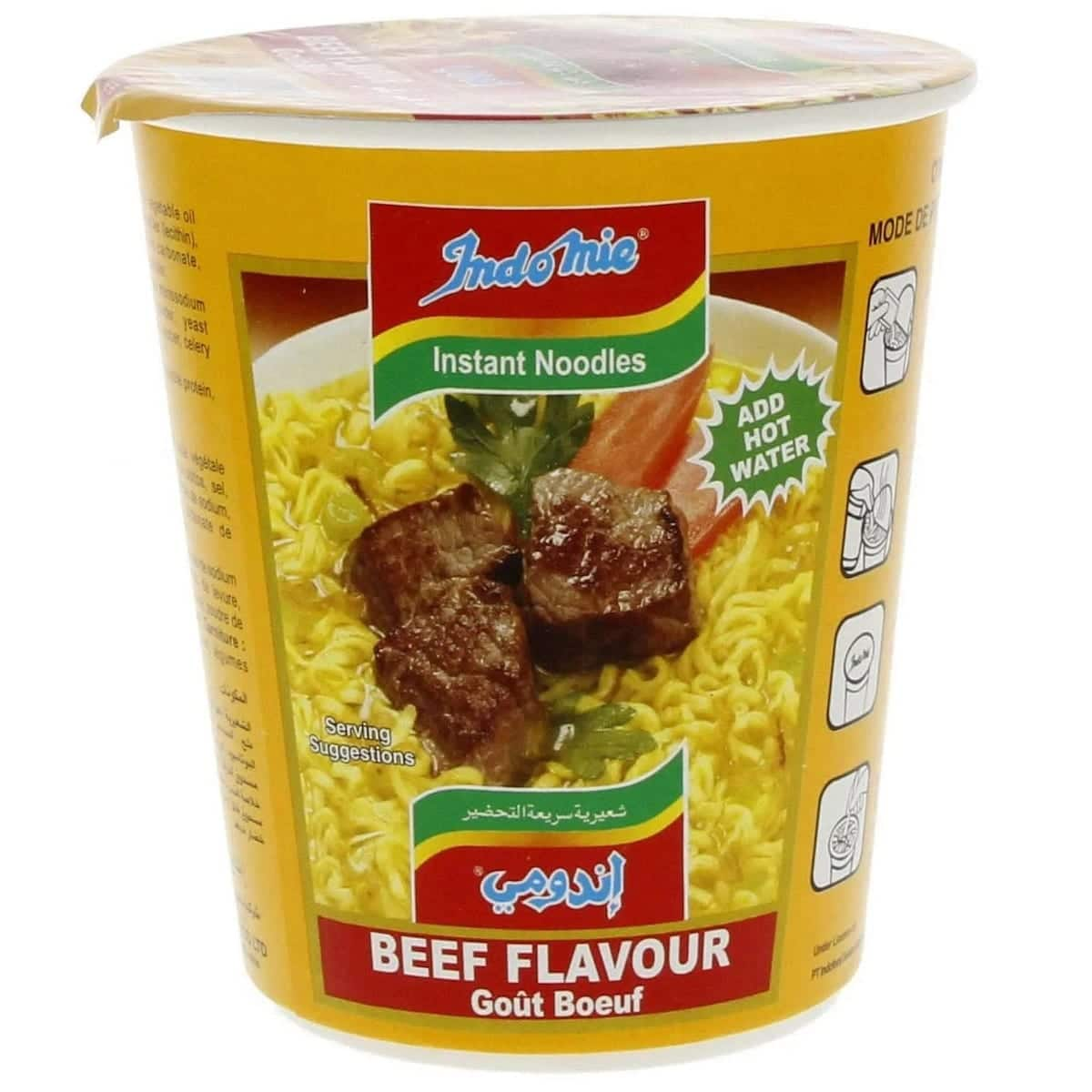 How to prepare indomie instant noodles!