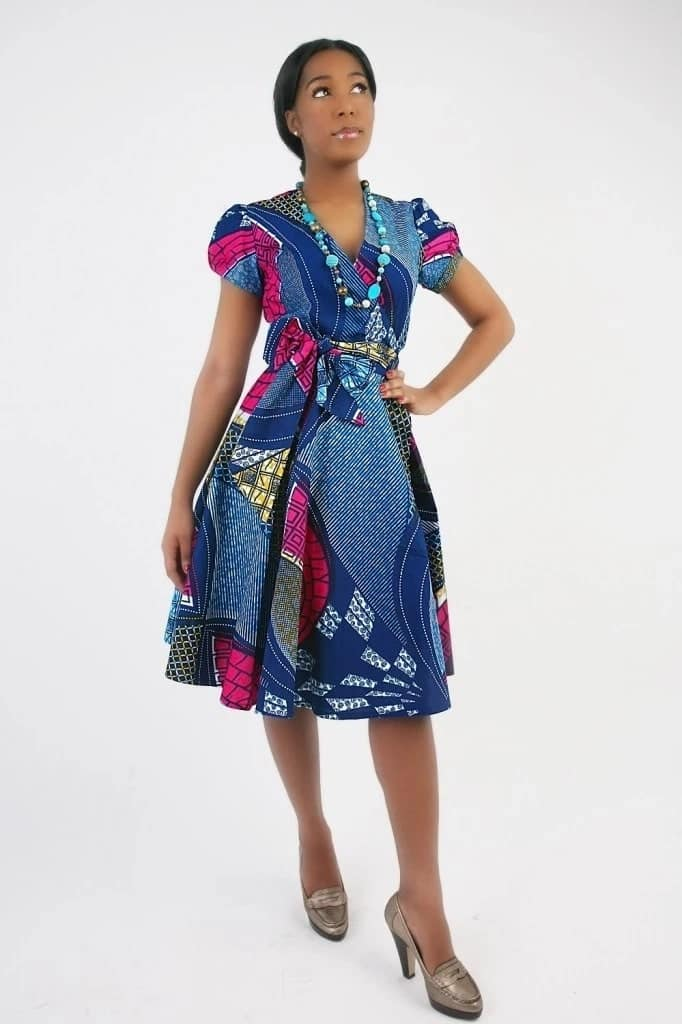 Beautiful African dresses for wedding guests
