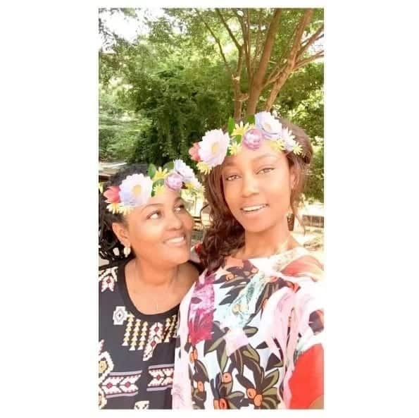 Yvonne Nelson's mum pushes for more selfies
