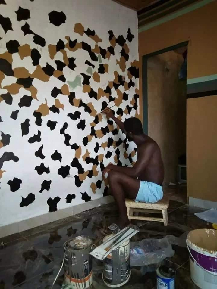 Meet 25-year-old SHS leaver who has taught himself into a skilled painter