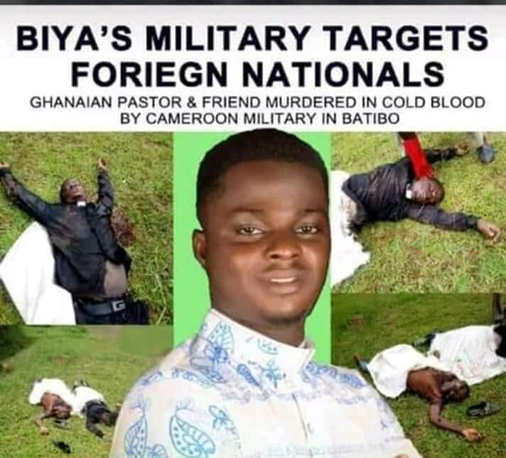 Ghanaian pastor 'murdered' in Cameroon; family accuses military