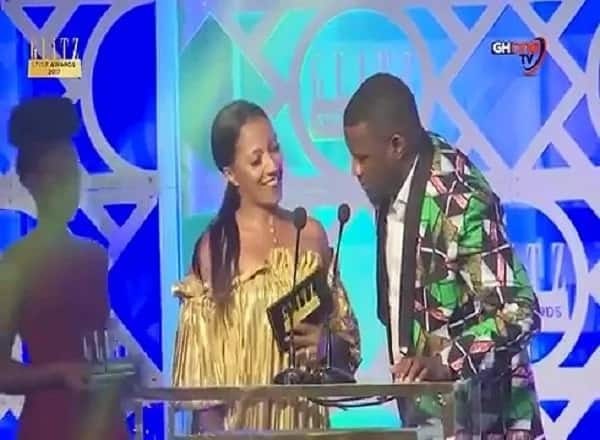 There's short chemistry between Dumelo and Nana Addo's daughter and we are totally here for it