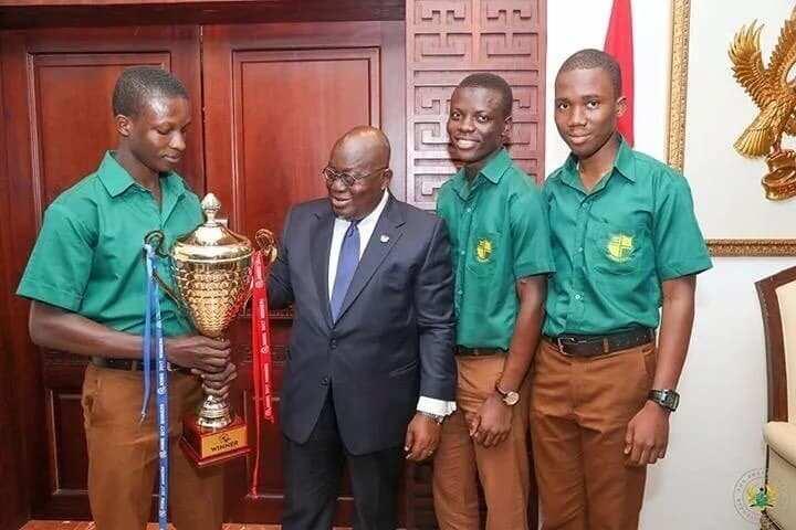 Prempeh teams meets with Akufo Addo