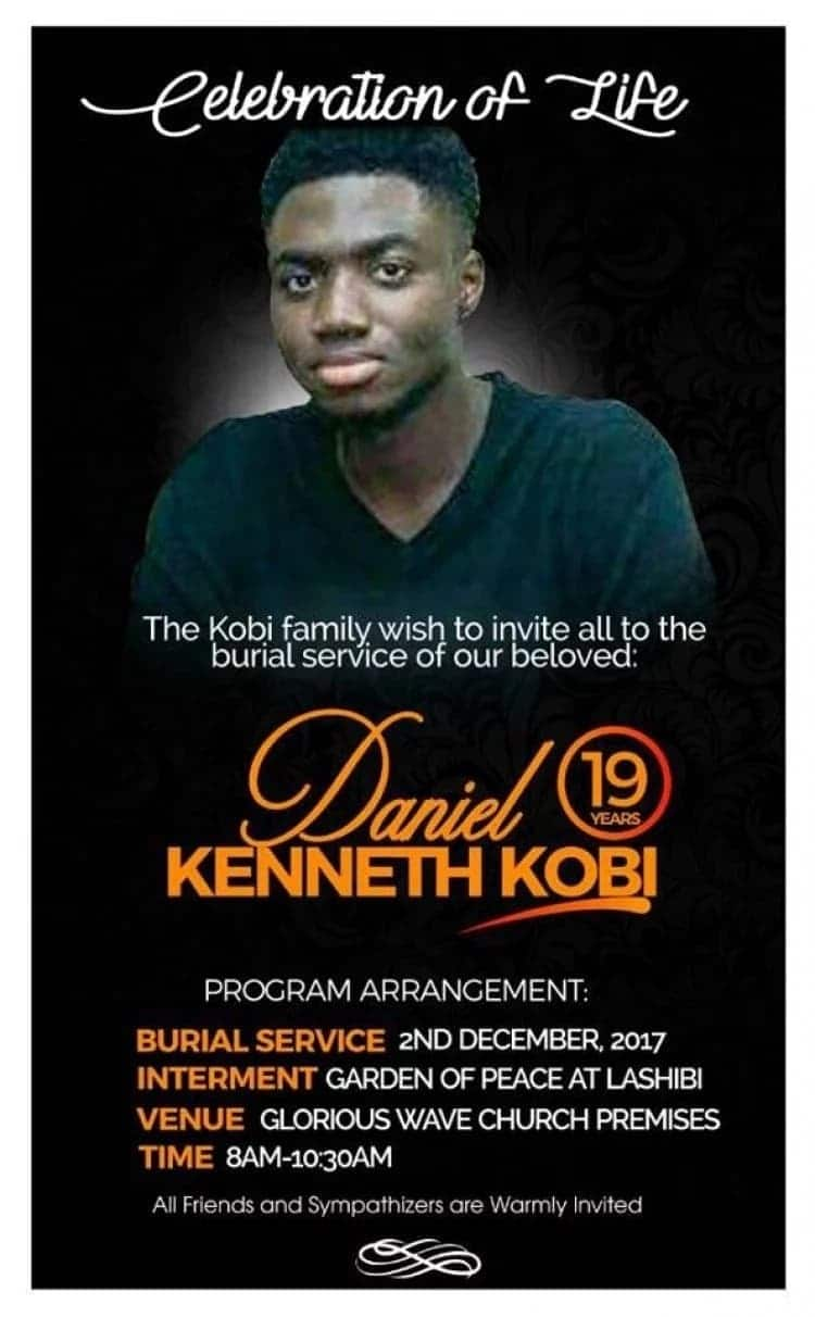 Celebrities mourn with Prophet Badu Kobe over the death of his 19-year-old son