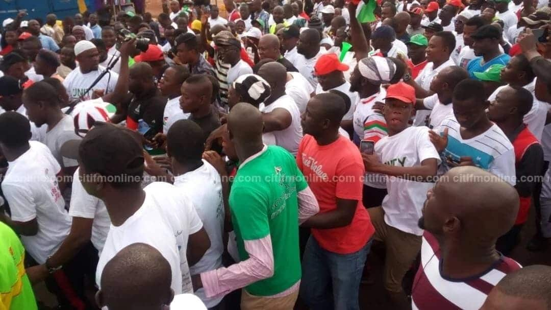 NDC storms Tamale for victory 2020 Unity walk