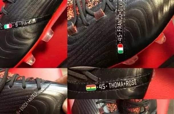 Photos: Mario Balotelli has imprinted the Ghana flag on his latest Puma boots
