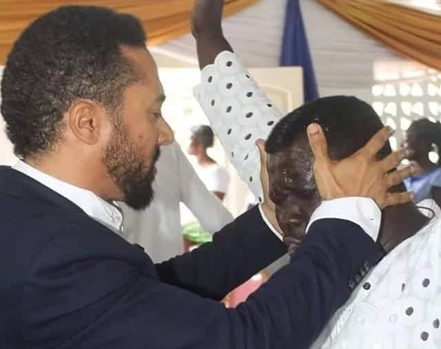 I have healed the blind and cripple- Majid Michel