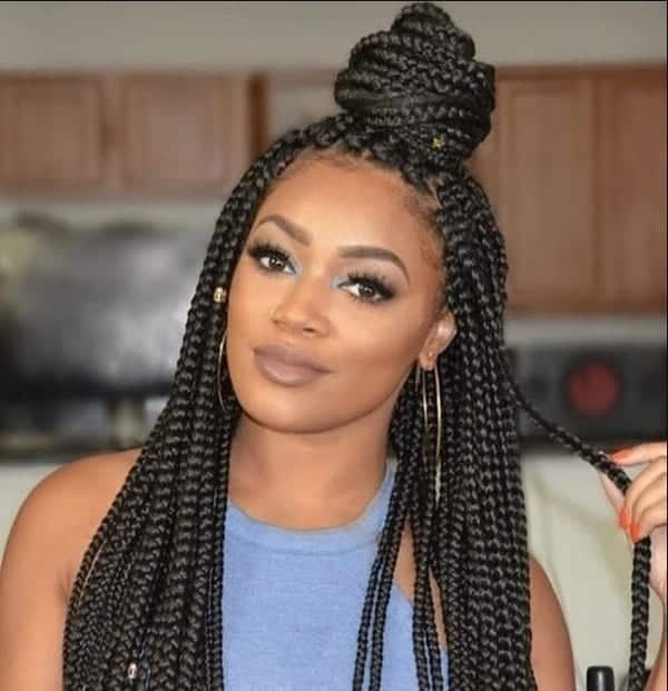 Best Box Braids Hairstyles In Ghana 2018 Yen Com Gh