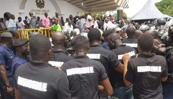 NPP Invincible Forces strike again; take over NADMO office