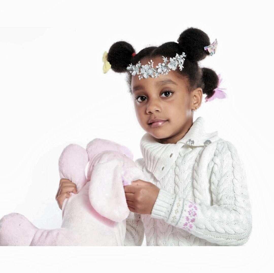 Asamoah Gyan's beautiful daughter turns 4