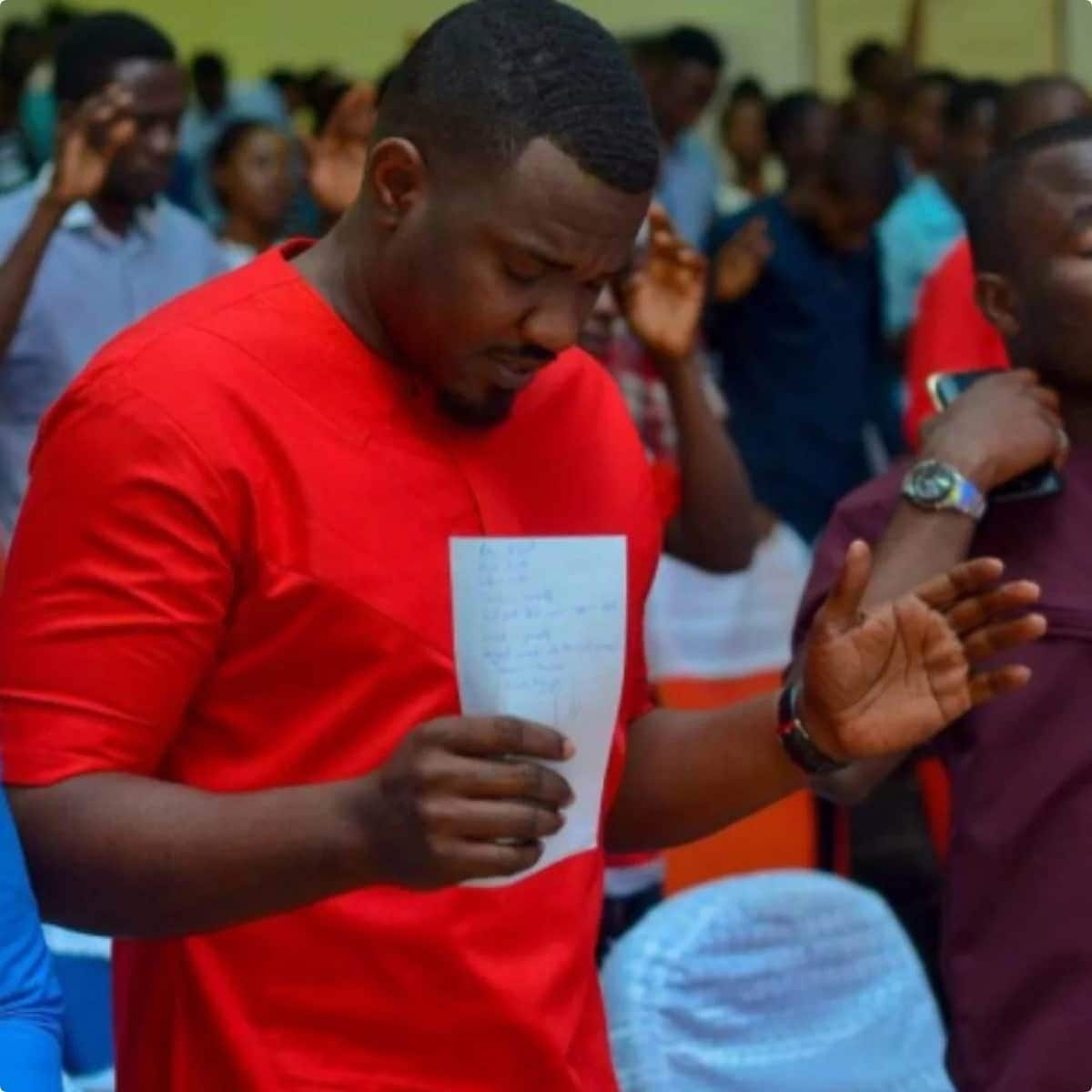 These latest photos of John Dumelo tell a lot about the kind of man he is