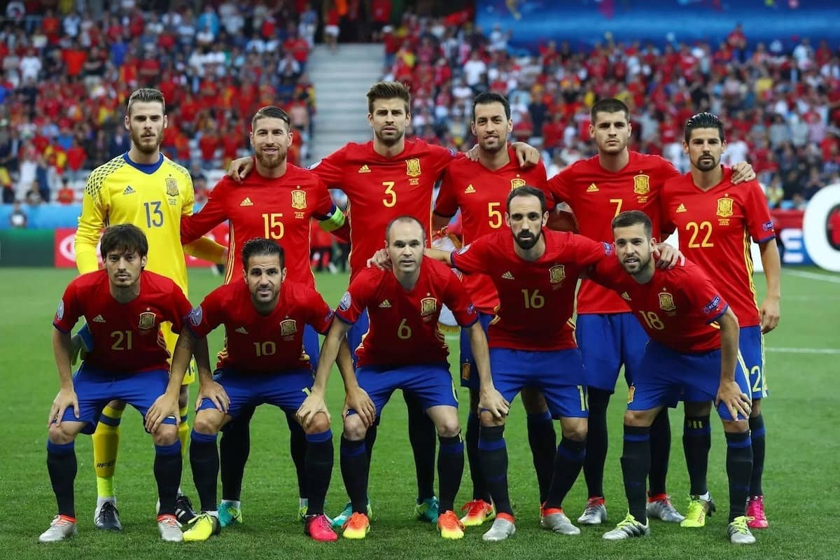 spain 2018 world cup squad