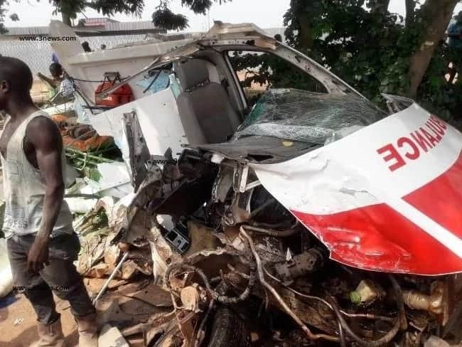 Six killed as ambulance crashes with truck in W/R