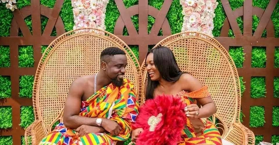 Sarkodie and Tracy wedding pictures