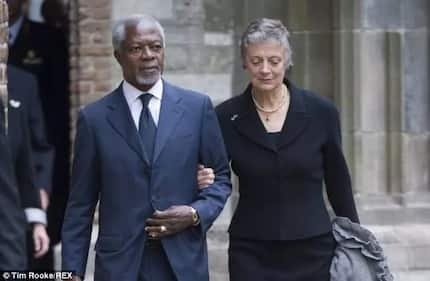 My husband died peacefully in his sleep - Kofi Annan's wife reveals heartbreaking details