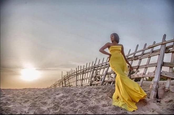 Ghanaian female celebrities who recently slew in gold on social media