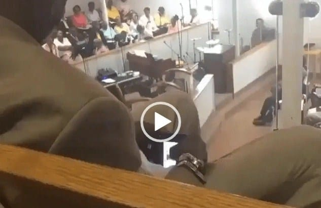 Man caught watching porn during church service
