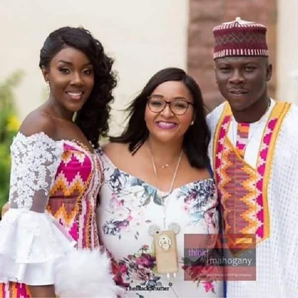 """Video: """"You may the bride"""" and other fun moments of Stonebwoy's wedding"""