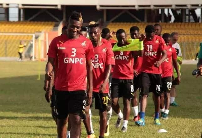 Black Stars probable line-up to face Congo